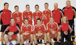WC 2007 – the Danish national team from North Schleswig