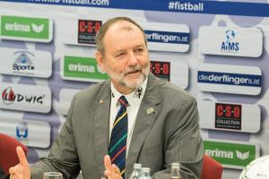 IFA president Karl Weiss
